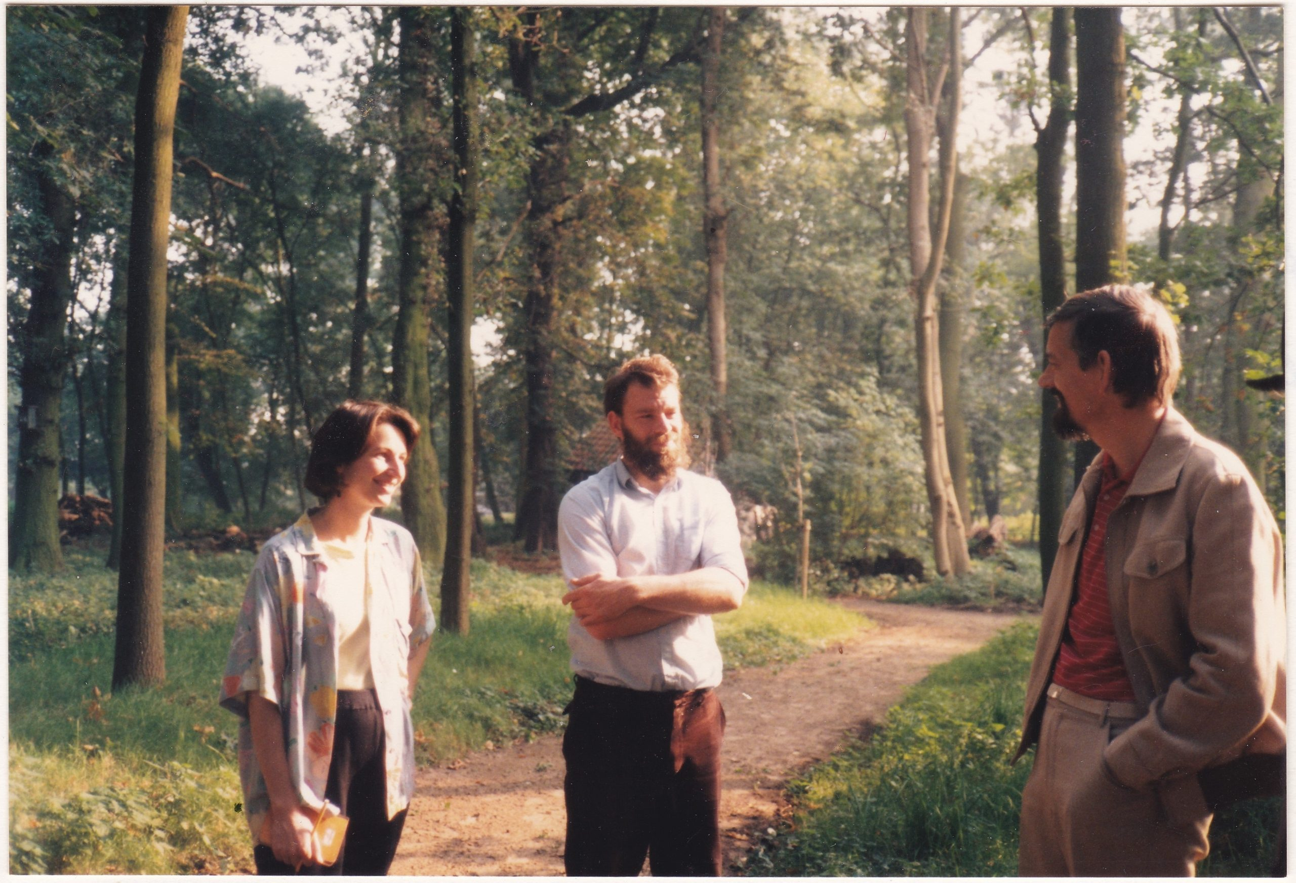 Finette visiting Wester-Amstel's grounds (1985)